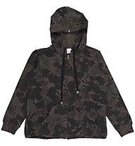 Everlast Plus Felpa Capuccio Fiori - Sweatshirtjacke Damen, Black