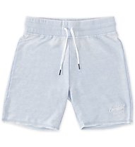 Everlast Short Burn Out Pantaloni corti fitness Donna, Light Blue