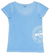 Everlast Slub Fluo - T-Shirt fitness - donna, Blue