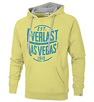 Everlast Felpa con cappuccio, Light Yellow