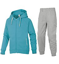 Everlast Trainingsanzug Kinder, Light Blue/Light Grey