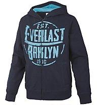 Everlast Felpa zip bambino, Dark Blue