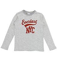 Everlast Jersey Millerighe - Langarmshirt Kinder, Grey