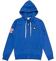 Everlast C/Capp. Zip Light Fleece - Trainingsanug - Herren, Blue/Grey
