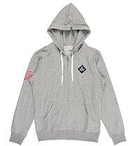 Everlast C/Capp. Zip Light Fleece - Trainingsanug - Herren, Grey/Blue