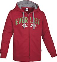 Everlast Tuta Felpa Ferma Junior, Red/Anthracite