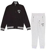 Everlast Zip Light Fleece - Trainingsanzug - Herren, Black/Grey