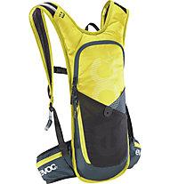 Evoc CC 3l RACE + 2l Bladder - zaino da bici con sacca idratazione inclusa, Yellow
