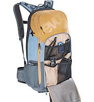 Evoc FR Trail - zaino MTB con protettore per schiena, Blue/Grey