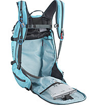 Evoc Line R.A.S. 30L - zaino airbag, Light Blue
