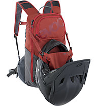 Evoc Ride 12 - Radrucksack, Red/Grey