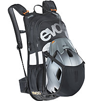 Evoc Stage 12L Team - Rucksack MTB, Black/Orange