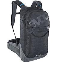 Evoc Trail Pro 10 - Radrucksack, Black/Grey