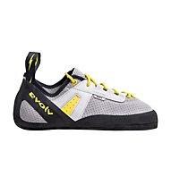 Evolv Defy Lace - Kletter- und Boulderschuh - Herren, Grey/Black/Yellow
