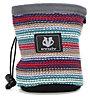 Evolv Knit Chalk Bag - portamagnesite, Blue/Pink