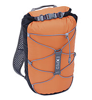 Exped Cloudburst 15 - Wasserdichter Rucksack, Black/Orange