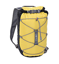 Exped Cloudburst 15 - Wasserdichter Rucksack, Black/Yellow