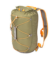 Exped Cloudburst 15 - Wasserdichter Rucksack, Dark Green