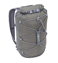 Exped Cloudburst 15 - Wasserdichter Rucksack, Grey/Brown