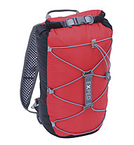 Exped Cloudburst 15 - Wasserdichter Rucksack, Black/Red