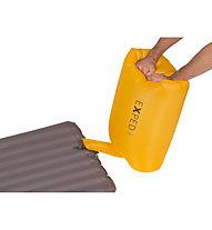 Exped Schnozzel Pumpbag - pompa per materassino, Yellow
