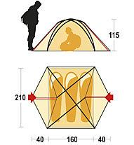 Ferrino Aerial 3 - Zelt