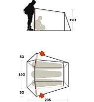 Ferrino Lightent 3 Pro - tenda, Green