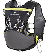 Ferrino X-Track Vest 5 L - zaino trailrunning, Black/Yellow