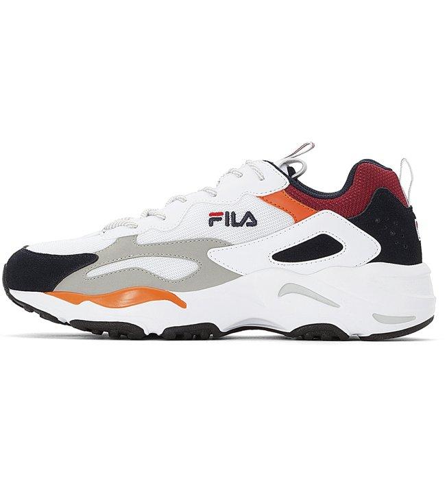 Fila Ray Tracer - Sneaker - Herren, White/Black/Red