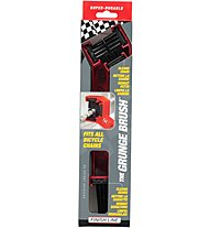 Finish Line Double Grunge Brush - Manutenzione Bici, Red/Black