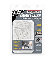 Finish Line Gear Floss, White
