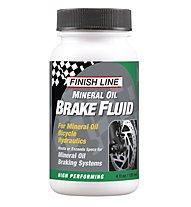 Finish Line Mineral Oil Brake Fluid - Attrezzo Bici, White