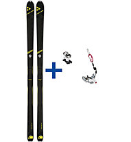 Fischer Alpattack ST Set: Ski + Bindung