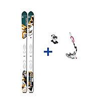 Fischer Hannibal 94 Set: Ski+Bindung