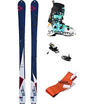 Fischer Set scialpinismo Freetour W: sci+attacchi+pelli+scarponi