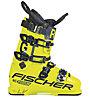 Fischer RC4 Podium GT 130 Vacuum - scarpone sci alpino - uomo, Yellow
