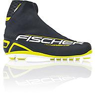 Fischer RCS Carbonlite Classic - Langlaufschuhe, Black/White/Yellow