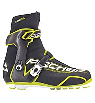 Fischer RCS Carbonlite Skate, Black/White/Yellow