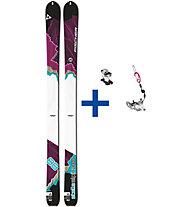 Fischer Stella Alpina 88 Set: Ski + Bindung