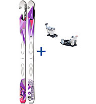 Fischer Transalp Gerlinde Kaltenbrunner Set: Ski+Bindung