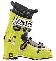 Fischer Transalp Vacuum TS Lite - scarpone scialpinismo, Light Yellow/Black