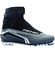 Fischer XC Comfort Silver - scarpa da fondo, Black/Grey