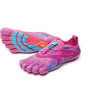 Fivefingers V-Run Women - scarpe trail running donna, Purple/Blue