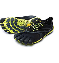 Fivefingers V-Run Evo 2 Men - Laufschuhe, Black/Yellow