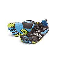 Fivefingers KMD Sport LS scarpa running, Black/Blue/Green