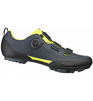 Fizik Terra X5 - MTB Schuhe - Herren, Grey/Yellow