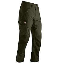 Fjällräven Abisko pantaloni lunghi trekking, Dark Olive