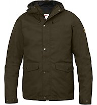 Fjällräven Övik 3 in 1 Jacket, Dark Olive/Black