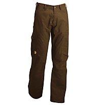 Fjällräven Karl - Pantaloni lunghi Trekking - uomo, Black Brown
