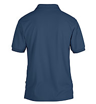 Fjällräven Crowley Piqué - Wander Poloshirt - Herren, Blue